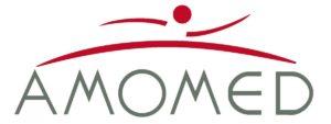 amomed logo_vektor_rot-grau